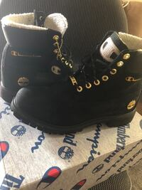 Champion timberlands limited edition (not available in stores)