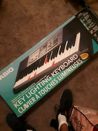 black and white electronic keyboard Red Deer, T4N 2G5