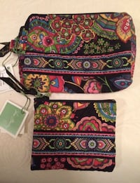 Vera Bradley cosmetic bag & coin purse Lexington