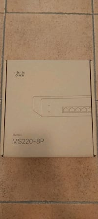 Switch Cisco MS220-8P Getafe, 28907