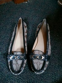 pair of black leather flats Rochester, 14621