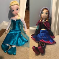 Disney Frozen Elsa and Anna dolls Silver Spring, 20906