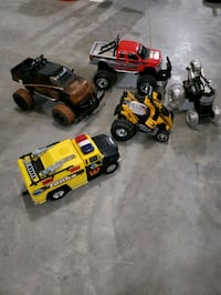 Remote control trucks and spinner cars and tonka  McFarland, 53558