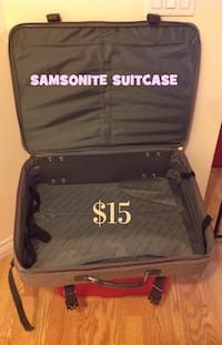 SAMSONITE Tweed Suitcase Brampton, L7A