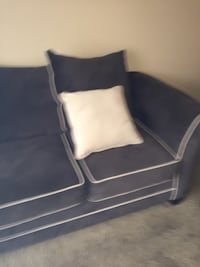 black and white leather sofa chair Richland Hills, 76118