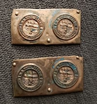 Vintage US Navy Reserve Honorable Discharge Molds Ottawa