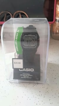 Men's Casio watch never open brand new  Midwest City, 73110