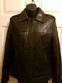 Black leather Women's Jacket  Vaughan, L4H 1M4