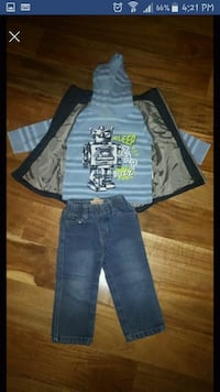 3 piece Toddler Outfit