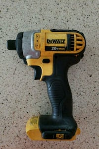 black and yellow DeWalt cordless power drill Reston, 20190