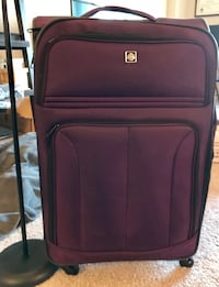 Swissgear Checklite purple soft side luggage 25 mi