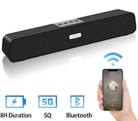 15 inch soundbar type Bluetooth portable speaker Ottawa