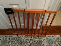 Solid Wood Baby/Pet  Gate Herndon, 20170