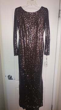 black and gray long sleeve dress Las Vegas, 89101