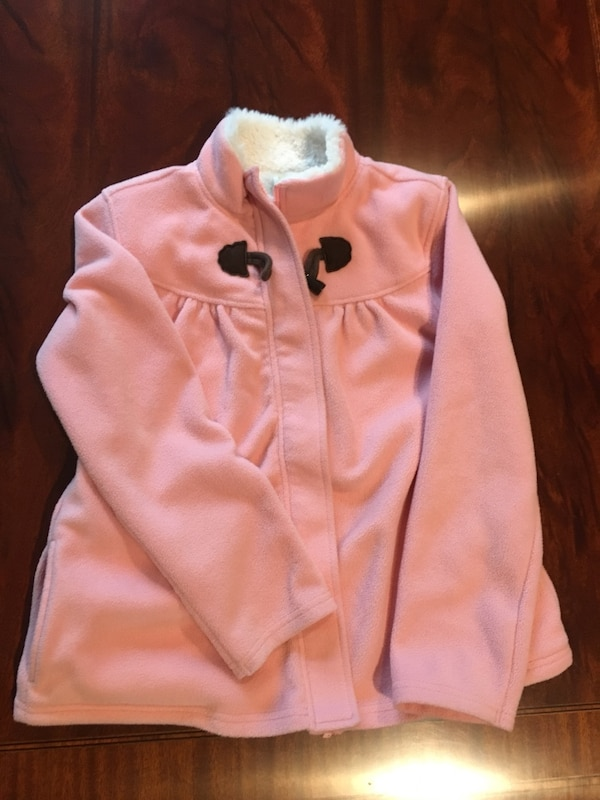 64a01714d Used Crazy Eight size L 10 12 girls pink coat for sale - letgo