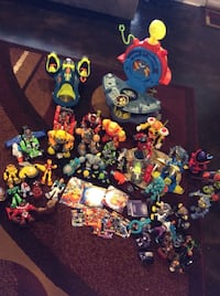 Fisher Price Planet Heroes figures and dvds