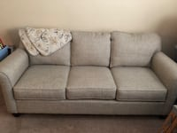 Gray tan couch Charlotte, 28215