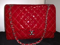 Quilted red leather Chanel Purse Whittier, 90603