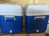 2 Rubbermaid coolers (pair $45) Edmonton, T6W 2K8