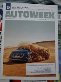 Autoweek Magazine Collection 23 Editions Falls Church