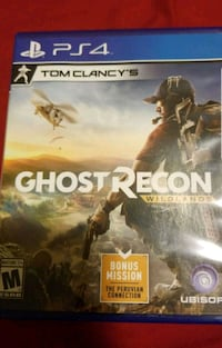 Ghost Recon Wildlands PS4 game case Kissimmee, 34743