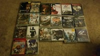 Assorted ps2 and ps3 games