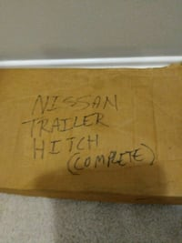 Brand new Nissan SUV trailer hitch