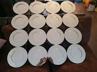 white ceramic plates and cups Longueuil, J3Y 0P5