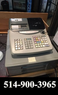 150$ Cash register Casio // Caisse enregistreuse