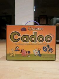 Cranium cadoo board game