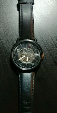 Kinetic energy watch with black leather  Edmonton, T5M 3L3