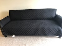 Sofa couch, Navy Blue Arlington, 22202