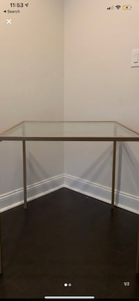 Gold Dining Table for 4 Washington, 20037