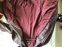 Purple coloured girls leather jacket  bought from Italy. In very good condition.  MUMBAI