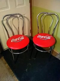 two red-and-black chairs Coatesville, 19320