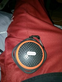round black and red portable speaker Barrie, L4N 8R2
