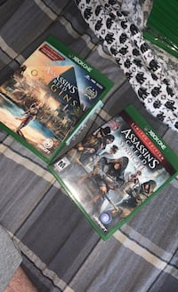 ASSASSIN'S CREED ORIGINS & SYNDICATE console games Xbox One