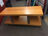 Light wood TV stand  Montreal, H3C 2J6