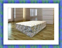 Queen plush 2pc mattress and box spring McLean