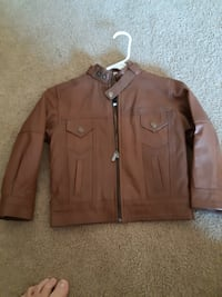 Kids leather Jacket ( like new)