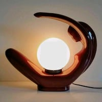 Large Vintage 1980's Art Deco Style Ceramic Table/TV Lamp   Toronto, M4E 3V5