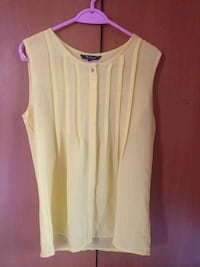 Yellow Van Heusen top . Used only once  Chennai, 600113