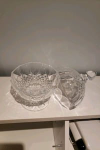 Crystal  candy bowl Vaughan, L4H 2Z9