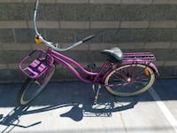 pink and white cruiser bike Glendale, 91201