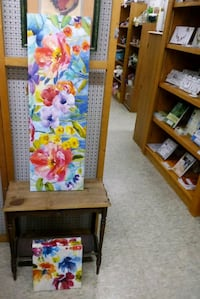 4 canvas floral prints McAllen, 78501