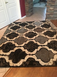 8x10 area rug Brand new /gorgeous accent rug /grey brown ivory  Glendale, 85308
