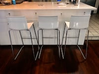 3 IKEA Glenda BarS Stools District Heights, 20747