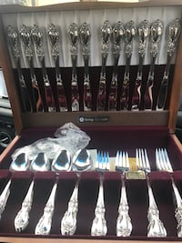 12 piece Stainless steel set.
