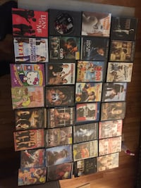 Assorted dvd movie case lot Clinton, 20735