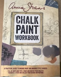 Annie Sloan Chalk Paint Workbook. Brand new. Never used.